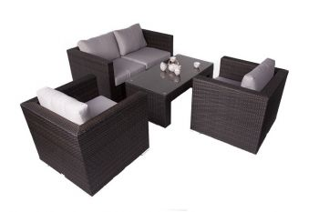 Denby Rattan Coffee Table W116cm x D60cm