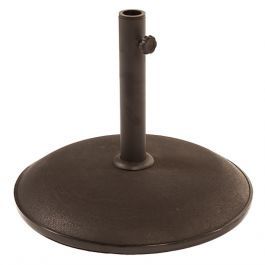 Round Parasol Base Black D40cm