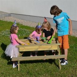 Kids Sandpit Picnic Table