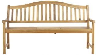 Bailey Outdoor Bench - Natural Brown