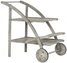 Riva Outdoor Tea Cart - Ash Grey