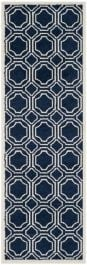 Ferrat  Indoor/Outdoor Rug, 68 X 213 cm - Navy & Ivory