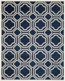 Ferrat  Indoor/Outdoor Rug, 243 X 304 cm - Navy & Ivory