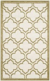 La Salis  Indoor/Outdoor Rug, 76 X 121 cm - Ivory & Light Green