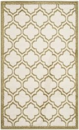 La Salis  Indoor/Outdoor Rug, 91 X 152 cm - Ivory & Light Green