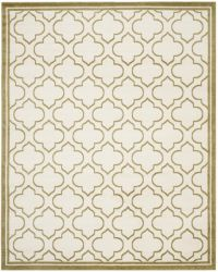 La Salis  Indoor/Outdoor Rug, 243 X 304 cm - Ivory & Light Green