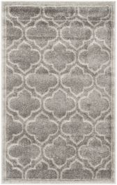 La Salis  Indoor/Outdoor Rug, 76 X 121 cm - Grey & Light Green