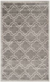 La Salis  Indoor/Outdoor Rug, 91 X 152 cm - Grey & Light Green
