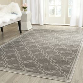 La Salis  Indoor/Outdoor Rug, 152 X 243 cm - Grey & Light Green