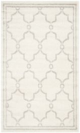 La Pelosa  Indoor/Outdoor Rug, 91 X 152 cm - Ivory & Light Grey