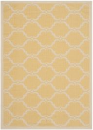 Lugano Multipurpose Indoor/Outdoor Rug, 121 X 170 cm - Yellow & Beige