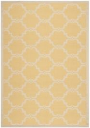 Lugano Multipurpose Indoor/Outdoor Rug, 200 X 289 cm - Yellow & Beige