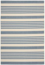 Gemma Multipurpose Indoor/Outdoor Rug, 160 X 231 cm - Beige & Blue