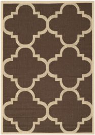 Mali Multipurpose Indoor/Outdoor Rug, 121 X 170 cm - Dark Brown