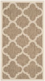 Mali Multipurpose Indoor/Outdoor Rug, 60 X 109 cm - Brown