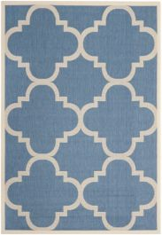 Mali Multipurpose Indoor/Outdoor Rug, 160 X 231 cm - Blue & Beige
