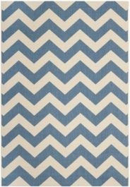 Chelsea Multipurpose Indoor/Outdoor Rug, 160 X 231 cm - Blue & Beige
