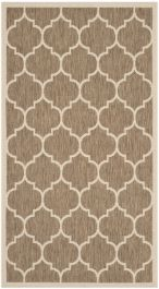 Monaco Multipurpose Indoor/Outdoor Rug, 78 X 152 cm - Brown & Bone