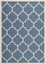 Monaco Multipurpose Indoor/Outdoor Rug, 160 X 231 cm - Blue & Beige