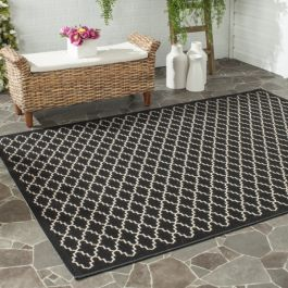 Gwen Multipurpose Indoor/Outdoor Rug, 160 X 231 cm - Black & Beige