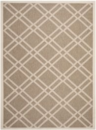 Marbella Multipurpose Indoor/Outdoor Rug, 160 X 231 cm - Brown & Bone