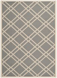 Marbella Multipurpose Indoor/Outdoor Rug, 160 X 231 cm - Anthracite & Beige