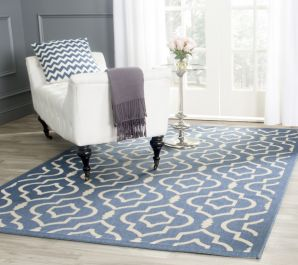 Mykonos Multipurpose Indoor/Outdoor Rug, 160 X 231 cm - Blue & Beige