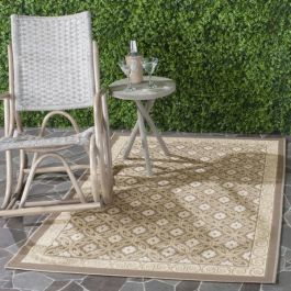 Theodore Multipurpose Indoor/Outdoor Rug, 121 X 170 cm - Dark Beige & Beige