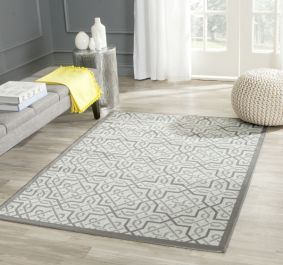 Serafina Multipurpose Indoor/Outdoor Rug, 121 X 170 cm - Light Grey & Anthracite