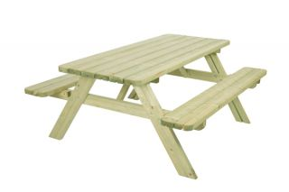6 Seater Classic Luxury Picnic Dining Table