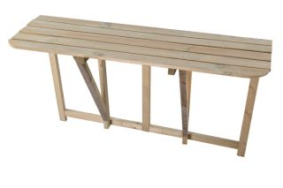 Riga Long Folding Wall Table - 1.2m