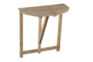 Riga Small Folding Wall Table - 60cm