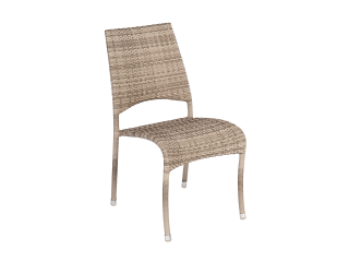 Alexander Rose Ocean Fiji Rattan Stacking Chair
