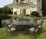 Gypsy Eight Seat Round Dining Set with