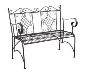 Alium� Como 1.08m (3ft 6�ins) Steel Bench