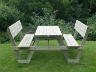 Huntley Timber Garden Picnic Table