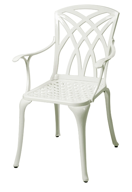 Alium™ Washington Cast Aluminium 4 Seater Square Garden Furniture Set