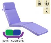 Deluxe Steamer Cushion in Lilac by Kotch - 7cm Thick