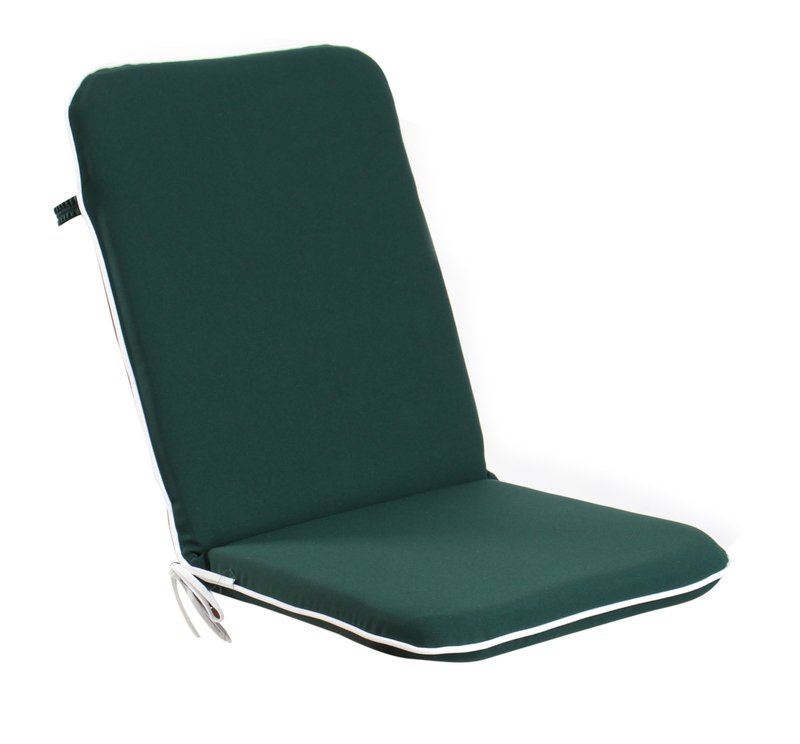 Premium Folding Chair Cushion in Green by Kotch 5cm Thick £19 99
