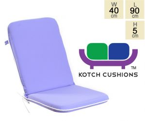 Premium Folding Chair Cushion in Lilac by Kotch - 5cm Thick