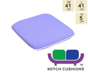 Premium Chair Cushion in Lilac by Kotch - 5cm Thick