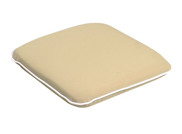 Premium Chair Cushion in Taupe by Kotch - 5cm Thick