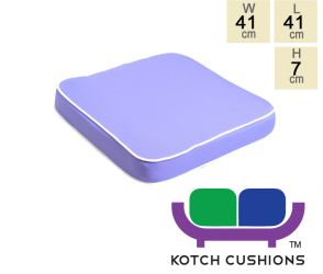 Deluxe Chair Cushion in Lilac by Kotch - 7cm Thick