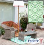 Outdoor Rug Samti in Green - 1.2m x 1.8m by Tabriz Rugs™
