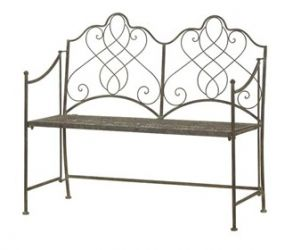 Antique 1.08m (3ft 6½ins) Steel Folding Bench