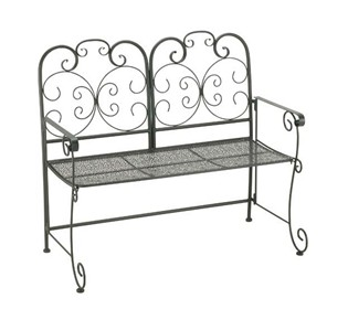 Madrid 1.07m (3ft 6ins) Steel Folding Bench