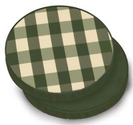 Standard Round Pad Cushion in Classic Green