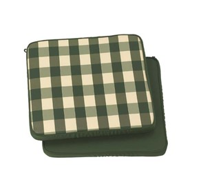 Standard Carver Seat Cushion in Classic Green