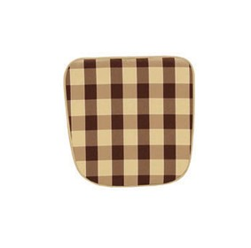 Standard 'D' Pad Cushion in Mocha/Rouge