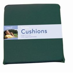 Square Cushion Green - Pair